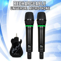 2019 Newest Portable UHF universal Wireless Microphone Handh...