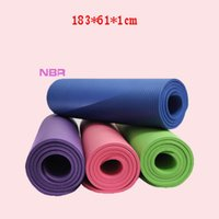 10mm Thick Yoga Mats Beginner Yoga Sports Exercises Outdoor ...