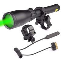 Magorui Laser Genetics ND3 X50 ND50 Night Vision Green Laser Designator w / Justerbar Scope Mount