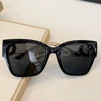 MONTAIGNE donne nuova moda del progettista degli occhiali da sole di grandi dimensioni cornice quadrata occhiali di protezione superiore protezione dai raggi UV qualità eyewear popolare stile d'avanguardia