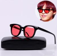 V Brand Square Frame GM South Side Occhiali da sole Fashion Female Blue Night Glasses Goggles Korea Gentle Uomo Donna Occhiali da sole oculo feminino