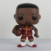 FUNKO POP Basketball Star Fashion Sport James-Kobe-Stephen Curry-Cyrie Irving-John Wall-Action Figure Sammeln Modell Spielzeug für Fans