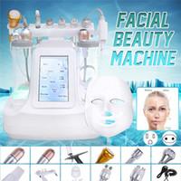 12 en 1 Hydra Dermabrasion RF Bio Light Spa Machine de visage Eau Jet Hydro Diamond Peeling Microdermabrasion Dispositif de beauté