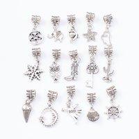 MUM regalo collana pendente del braccialetto di colore caldo di vendita d'argento fascino genuino ciondola Fit originale Beads autentici gioielli