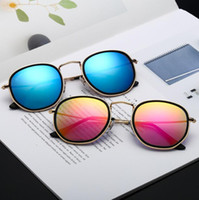 Double Circle Sunglasses 10 Colors Inner Outer Double Ring U...