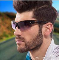 نظارات الدراجات الجديدة نظارات، جودة عالية رجل مصمم الدراجات الرياضة النظارات الماركات بالجملة 7 ألوان D010