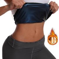 Похудение профилировщика тела Сжигание жира Живот Пояс Упражнение тренировки Aid Girdle Shapewear Рубашка Пот Фитнесс Body Shaper Vest