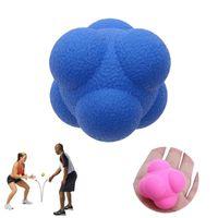 Reacción hexagonal bola silicona agilidad coordinación reflejo ejercicio deportes Fitness entrenamiento bola