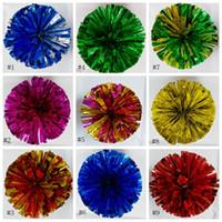 Pompons Cheerleader Uniform Hand Blume Cheer Ball Tanz Ball Schule Tanz Square Dance Performance Requisiten Pompons EEA293