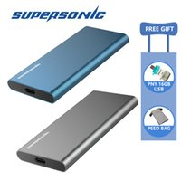 Disque SSD portable Supersonic P20 128GB 256GB 512GB 1TB Typc-C USB3.0 SSD externe pour ordinateur portable Android
