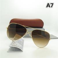 고품질 브랜드 선글라스 금속 힌지 선글라스 남자 안경 여자 Sun glasses UV400 렌즈 Unisex with Original cases and box