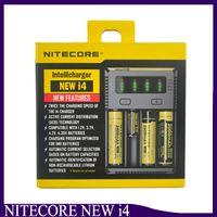 Nitecore I4 Carregador de Carregador Universal para 18650 16340 26650 10440 14500 Bateria Nitecore Carregador de Bateria 2238009-1