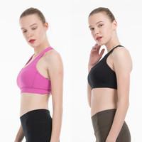 Energía Deportes Sujetador Cultivo Top Top Yoga Lu Estilista Tisitas T Shirts Chaleco de gimnasio Entrenamiento Bra Sujetador Paños Tank Tamaño Tamaño XS-XL