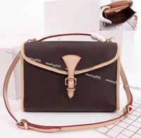 Marca più alla moda pochette metis donne geniune in pelle bel air borsa messenger top maniglia tracolla copertura della borsa grande volume 51120
