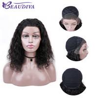 Menschenhaar-Perücken Spitze-Front-brasilianischen Malaysian Indian lockiges Haar volle Spitze-Perücke Remy Jungfrau-Haar-Spitze-Frontseiten-Perücken für schwarze Frauen