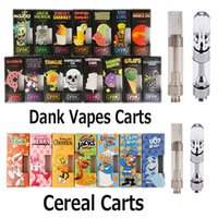 Black Package Dank Vapes Cereal Carts Cartridge Box 1. 0ml 1 ...