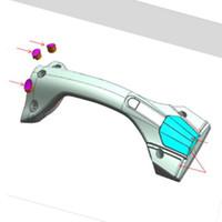원래 Ninebot Z10 Z8 Z6 핸들 바 조립 전기 외발 자전거 수리 부품