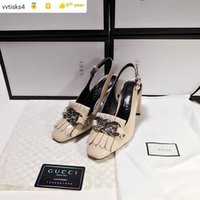 581603 back empty fringed sandals Casual Handmade Walking Te...
