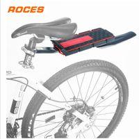 Mountain Bike transportadora de carga traseira da cremalheira do assento prateleira de bagagem de plástico ciclismo da bicicleta com Fender boa qualidade frete grátis