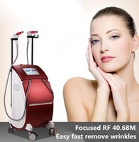 Israël Almas Laser Technology Thermolift 40.68MHz Focused visage RF levage Yeux Machine Traitement Anti-âge