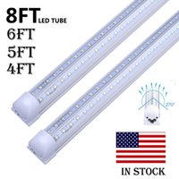 in stock Integrated LED Tubes Light V Shaped 4ft 5ft 6ft 8ft...