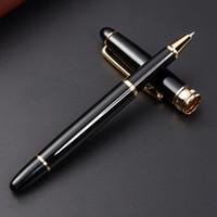أزياء معدن قلم حبر جاف النفط الأسود أقلام حبر جاف عدم الانزلاق دائم حبر القلم الكتابة لوازم الإعلان هدية تخصيص VT1776
