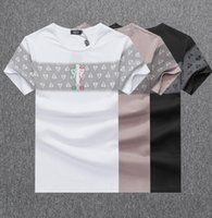 Fashion T- shirt Summer Men Pullover Short Sleeve Cotton Tee ...
