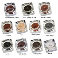 5 Adet PCD Micropigment 5G Kalıcı Makyaj Macunu Kaş Eyeliner Kozmetik Mürekkep Karışık Kahverengi Renk Pigment Manuel Dövme Kalem Için
