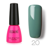 ROSALIND Esmalte de uñas UV LED Gel Uñas Esmalte Chameleo color sólido Soak Off girls Uñas Gel vernis ongle Dropshipping 2019
