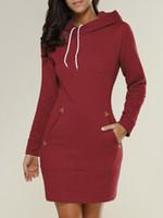 가을 스웨터 여성 스웨터 긴 소매 의류 후드 지퍼 스웨터 드레스 여성 캐주얼 운동복 플러스 사이즈 S-5XL 탑 가을