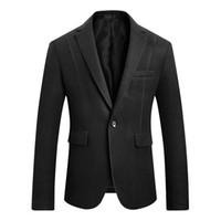 بدلة رجال الأعمال الأزياء سليم صالح عادية مشعر الرجال السترة الكورية النسخة سليم البدلة بذلات رجالي عرس ذكر سترات كبير الحجم M-5XL