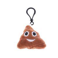 Kawaii-bonito chaveiro Estilo Moda de Nova Plush Emoticon Cadeia Mini Toy Key Bag Anel Key Carteiras de algodão material de alta qualidade