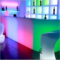 Modern commercial lighting Color Changing Rechargeable PE LE...
