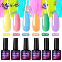 NAILWIND Nail Polish Set Gel Híbrido Varnish Soak Off UV LED Gel Semi prego Permanente All For Manicure kit Arte Decoração Poly