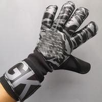2020 VG3 Profesional Hombres Grueso niños guantes de látex guantes de portero de fútbol portero de fútbol de los muchachos no Finger guantes de portero de fútbol Guardia Keepers