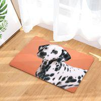 2020 Nueva Impresión del perro Alfombras antideslizante Cocina Alfombras para el hogar de la sala Tapetes 40x60cm