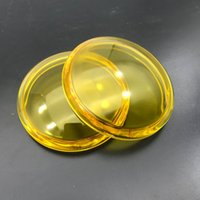 2pcs 라운드 직경 90mm 안개 램프 조명 노랑 강화 유리 Anti-fog 유리 인피니티 FX35 FX37 FX45 FX50 FX30D Q60 Q70 G25 G37