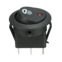 5PCS Auto Van Dash Runde 12V 20A Beleuchtet LED-Nebel-Licht-Kippschalter Ein / Aus