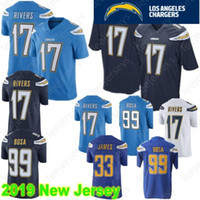 Los Angeles 17 Philip Rivers Jersey Chargers 33 Derwin James 99 Joey Bosa  Hot Sale 100% Stitched High Quality Jerseys 3437df47d