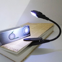 Portable Mini LED Book Clip Light Tablet Reading Lamp Withou...