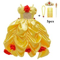 Cosplay Dress Girls Dresses for Beauty and Beast Baby Girls ...