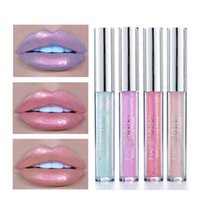 1Pcs Mermaid Pearl Light Liquid Lip Gloss Long- lasting Diamo...