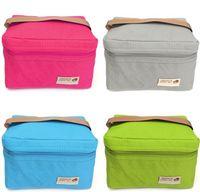 Yetişkin Çocuk Öğrenci Öğle Çanta Isı Yalıtımlı Lunch Box Vaka Gıda Saklama Torbası Cooler Mini Çanta Su geçirmez Piknik Çantaları Tote E21909 Carry