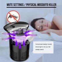 Убийцы москита свет 5W USB смарт-оптически-контролируемый насекомых убийства лампы насекомых ловушка Черепашка творческий лучшие продажи дропшиппинг