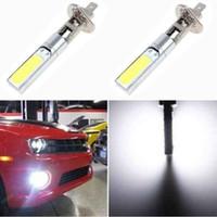 Coche H1 H3 10W COB LED blanco lámpara de la niebla de conducción de luz de lámpara bombilla LED diurna DRL de funcionamiento automático, la luz 12v de alta potencia