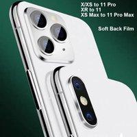 2020 جديد سليم PVC فيلم حامي للحصول على X XS ماكس تغيير لفون 11 11 برو ماكس العودة السينمائي حالة الغطاء لينة PVC الشاشة حامي القضية