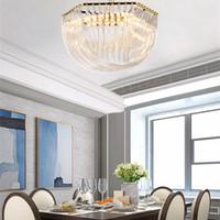 Crestech Lüks Avize E14 Kristal Avize Modern Yatak Odası Otel Oturma Odası Tavan Işıkları Fikstür Kristal Aydınlatma