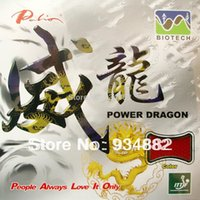 Palio Power Dragon (BIOTECH) Short Pips-Out Ping-pong (PingPong) Gomma con spugna 2.0mm