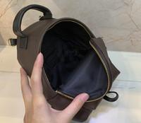 جميلة الأزياء بالم سبرينغز حقيبة الظهر مصغرة جلد طبيعي الأطفال حقيبة المرأة الطباعة الجلود 41562 حقيبة الكتف