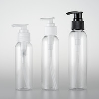 Pumpen-Flasche Runde Schulter-Flaschen Emulsion Transparent Schraube Spray leere Cremes Seltsamer Cosmetic Travel 0 97py A29